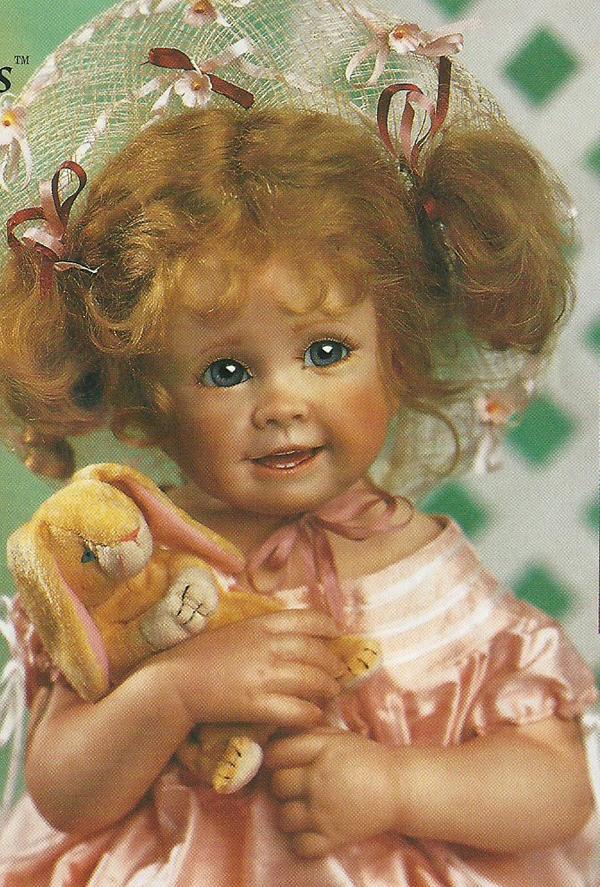 фарфоровые куклы от линды мюррей фото только