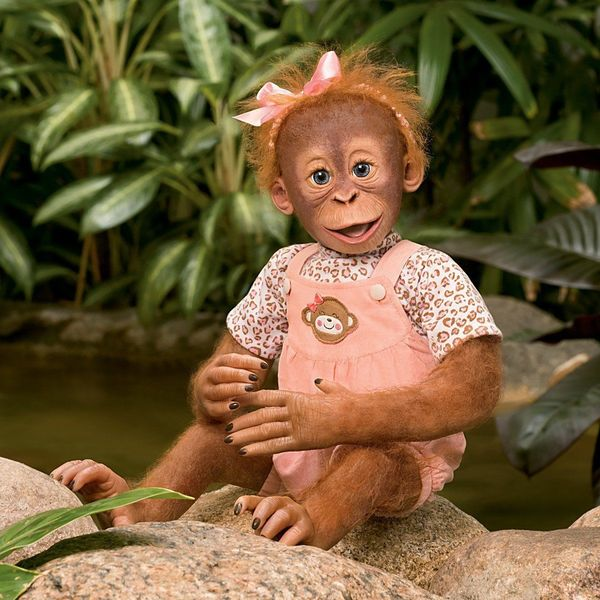 остановилось картинка с обезьяной накрасилась того