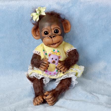 нарядная обезьянка картинки композицию