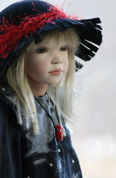 Куклы с настоящими волосами
